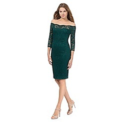 Star by Julien Macdonald - Green lace dress