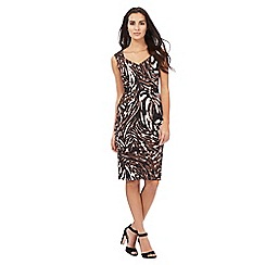 Star by Julien Macdonald - Multi-coloured animal print scuba dress