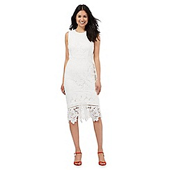 Star by Julien Macdonald - Ivory floral lace dress