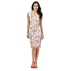 Star by Julien Macdonald - Multi-coloured floral print lace dress