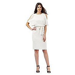 Star by Julien Macdonald - Ivory cold shoulder kimono dress