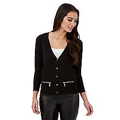 Star by Julien Macdonald - Black zip cardigan
