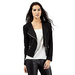 Star by Julien Macdonald - Black textured jacket