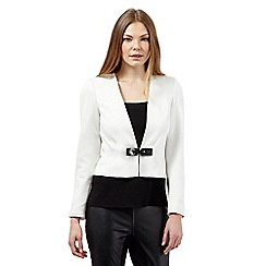 Star by Julien Macdonald - Ivory scuba jacket