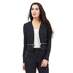 Star by Julien Macdonald - Dark blue chambray zip jacket