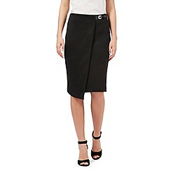Star by Julien Macdonald - Black scuba skirt