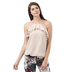 Star by Julien Macdonald - Light pink ruffled top