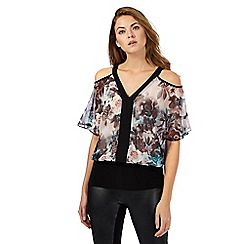 Star by Julien Macdonald - Multi-coloured floral print bubble top