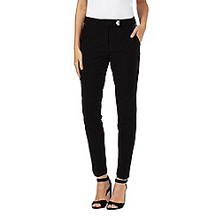 Star by Julien Macdonald - Black turn lock trousers