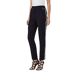 Star by Julien Macdonald - Navy tipped trim trousers