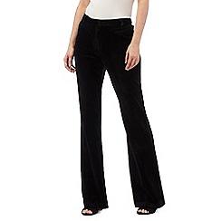 Star by Julien Macdonald - Black velvet trousers