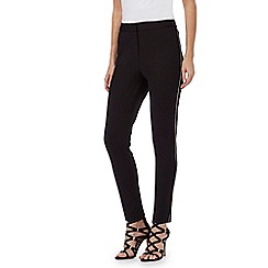 Star by Julien Macdonald - Black scalloped trim trousers