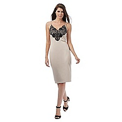 Star by Julien Macdonald - Light pink lace trim dress