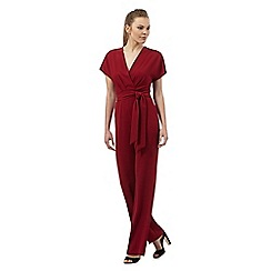 Star by Julien Macdonald - Dark red kimono jumpsuit