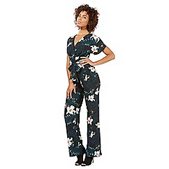 Star by Julien Macdonald - Multi-coloured palm print jumpsuit