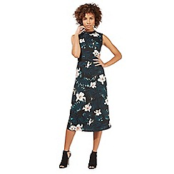 Star by Julien Macdonald - Multi-coloured palm print midi dress