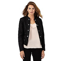 Star by Julien Macdonald - Black collarless jacket