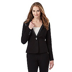 Star by Julien Macdonald - Black turn lock blazer jacket