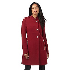 Star by Julien Macdonald - Red turn lock coat