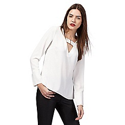 Star by Julien Macdonald - White buckle front top