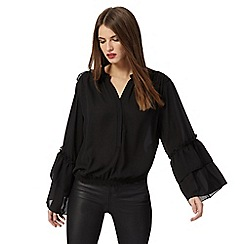 Star by Julien Macdonald - Black frill blouse