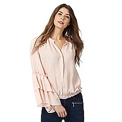 Star by Julien Macdonald - Pink frill petite blouse