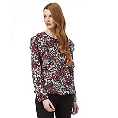 Star by Julien Macdonald - Multi-coloured floral print top