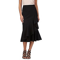 Star by Julien Macdonald - Black ruffled skirt