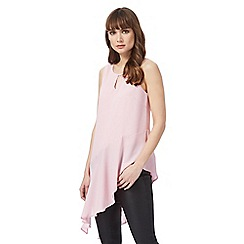 Star by Julien Macdonald - Pink sleeveless asymmetrical top