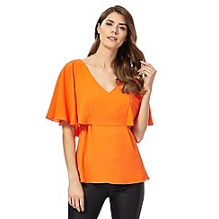 Star by Julien Macdonald - Orange cape top