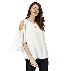 Star by Julien Macdonald - White cape top