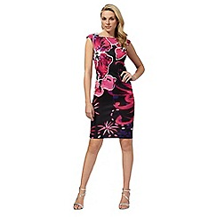 Star by Julien Macdonald - Pink floral print scuba dress