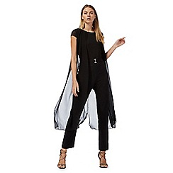 Star by Julien Macdonald - Black overlayer jumpsuit