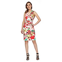 Star by Julien Macdonald - Multi coloured tropical print shift dress