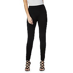 Star by Julien Macdonald - Black buckle leggings