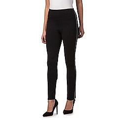 Star by Julien Macdonald - Black side zip petite trousers