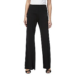 Star by Julien Macdonald - Black split leg trousers