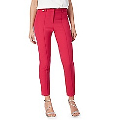 Star by Julien Macdonald - Bright pink seamed detail tapered trousers