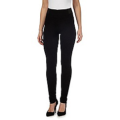 Star by Julien Macdonald - Black ruched hem leggings