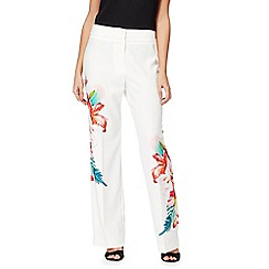 Star by Julien Macdonald - Multi-coloured tropical print trousers