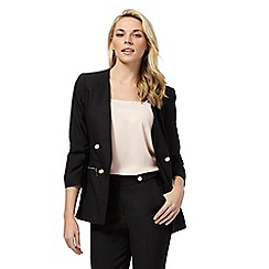 Star by Julien Macdonald - Black zip detail blazer