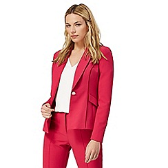 Star by Julien Macdonald - Bright pink fitted suit jacket