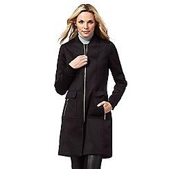 Star by Julien Macdonald - Black longline bomber coat