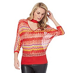 Star by Julien Macdonald - Multi-coloured patterned jumper