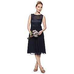 Debut - Esther Sheer Top Midi Dress