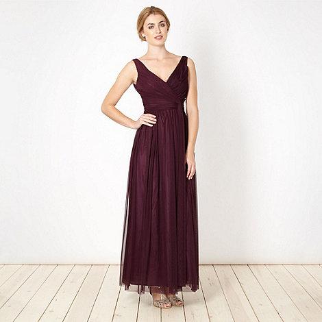 Debut - Plum maxi dress