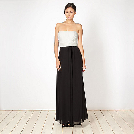 Debut - Black and white maxi dress