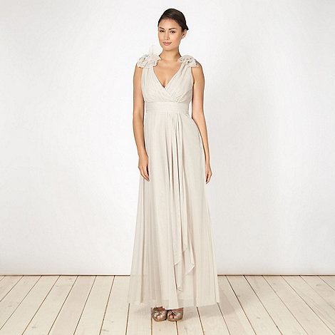 Debut - Natural layered occasion dress