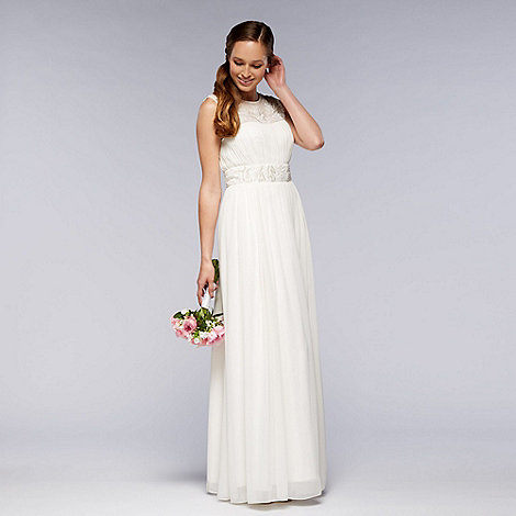 Debut - Ivory embellished bridal dress