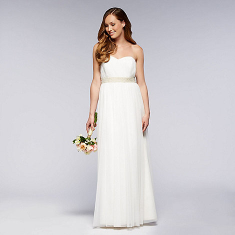 Debut - Ivory embellished wedding dress
